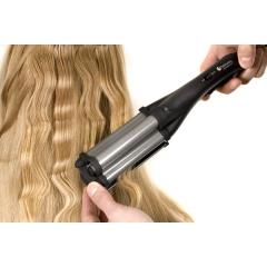 Плойка-волна Hairway Titanium-Tourmaline 130W 16-20-16мм С025